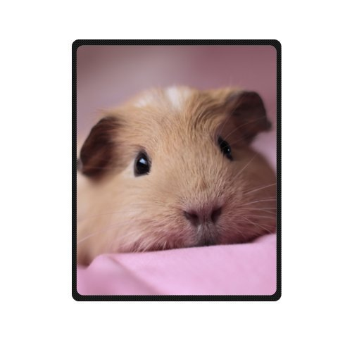 Soft Cute Animals Pig Guinea Pig 40 x 50 Small Fleece Throw Blankets with High Quality