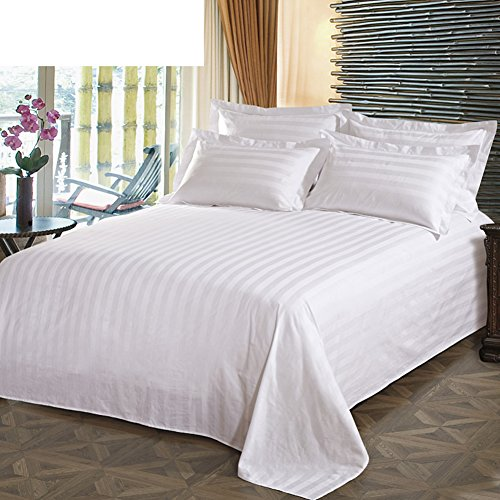 Encrypt Cotton satin sheets white cotton sheets-A 240x270cm94x106inch