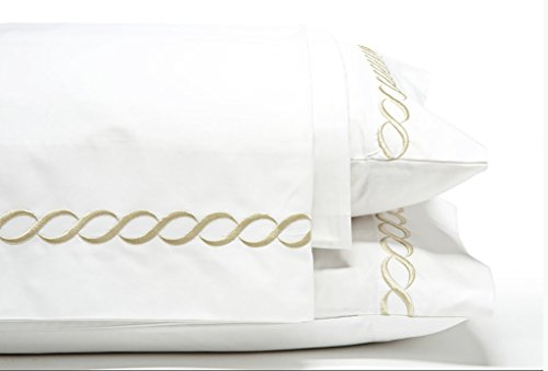 Egyptian Cotton Sheet Set ~ King Beige
