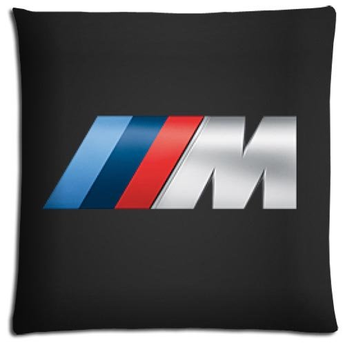 ODORLESS Polyester - Cotton Zippered BMW Lightweight Bedding Pillow Covers Case 20x20 inch 50x50 cm