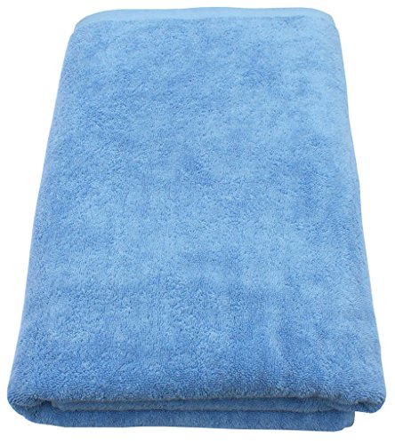 Medium Blue Supreme 600 gsm Egyptian Cotton Bath Towel BY-Rajinen