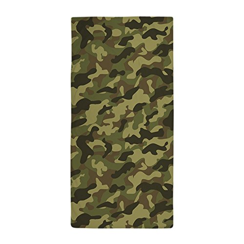 CafePress - Army Camouflage - Large Beach Towel Soft 30x60 Towel with Unique Design