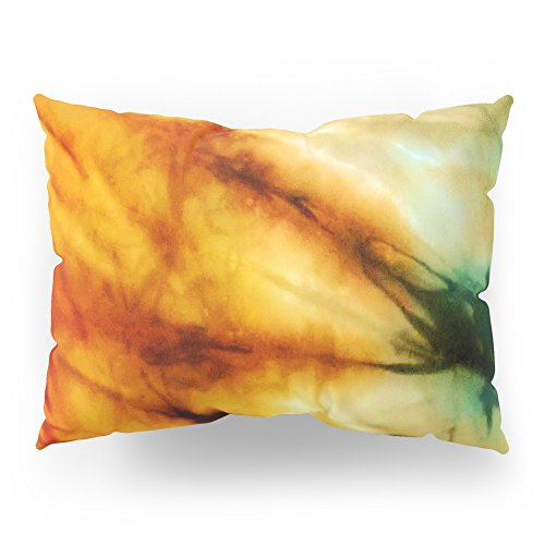 Society6 Green Tie Dye Pillow Sham Standard 20 x 26 Set of 2