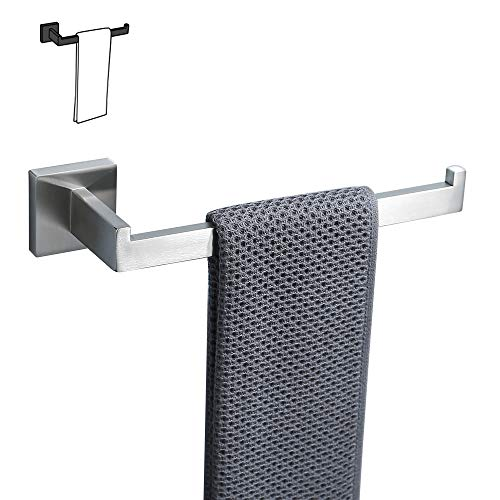 TURS SUS 304 Stainless Steel Bath Towel Ring Towel Holder Brushed Finish