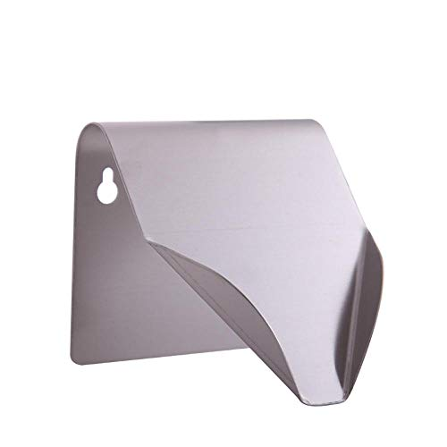 Bathroom soap Dish Stainless Steel soap Dish Wall-Mounted Bathroom Punch-Free soap Box Creative Kitchen Bathroom Sink soap Dish