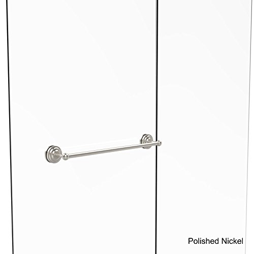 Allied Brass QN-41-SM-24-PNI Que New Collection 24 Shower Door Towel bar
