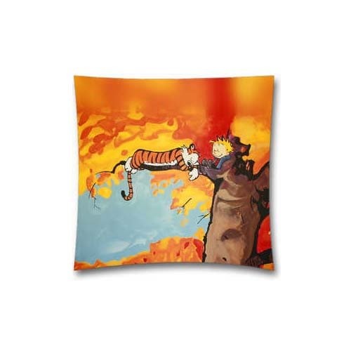 Calvin And Hobbes Tree Nap Pillow Case Cover Two Sides - Christmas Birthday Gift