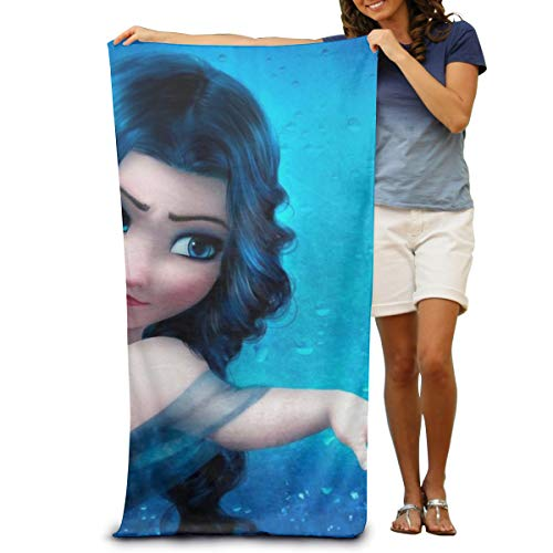 Absorbent Quick Dry Cotton Frozen Beach Towel Beach Blanket 31 X 51 Ultra Portable Lightweight Great for The Pool and The Beach